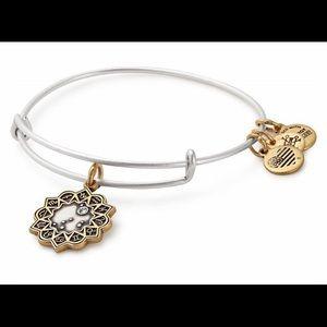 Alex and Ani Capricorn Zodiac Two Tone Bracelet